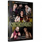 "CZW DVD February 10, 2018 ""Nineteen"" - Voorhees, NJ"