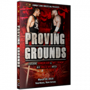 "CZW DVD March 10, 2018 ""Proving Grounds 2018"" - Voorhees, NJ"