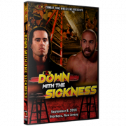 "CZW DVD September 8, 2018 ""Down With The Sickness 2018"" - Voorhees, NJ"