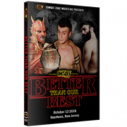 "CZW DVD October 13, 2018 ""Better Than Our Best"" - Voorhees, NJ"