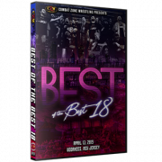 "CZW DVD April 13, 2019 ""Best of the Best 18"" - Voorhees, NJ"