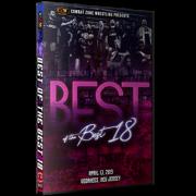 """CZW DVD April 13, 2019 """"Best of the Best 18"""" - Voorhees, NJ"""