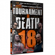 "CZW DVD June 22, 2019 Tournament of Death 18"" - Voorhees, NJ"