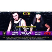 "CZW November 30, 2019 ""Night Of Infamy"" - Voorhees, NJ (Download)"