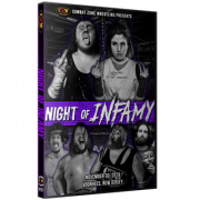"CZW DVD November 30, 2019 ""Night Of Infamy"" - Voorhees, NJ"
