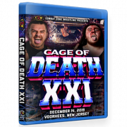 "CZW Blu-ray/DVD December 14, 2019 ""Cage of Death XXI"" - Voorhees, NJ"