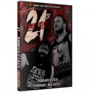 "CZW DVD February 8, 2020 ""21st Anniversary Show"" - Voorhees, NJ"