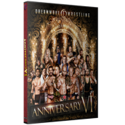"""DreamWave Wrestling DVD April 11, 2015 """"Anniversary VI"""" - LaSalle, IL"""