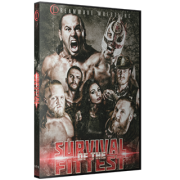 "DreamWave Wrestling DVD November 7, 2015 ""Survival Of The Fittest"" - Lasalle, IL"