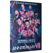 "DreamWave Wrestling DVD April 9, 2016 ""Anniversary VII"" - LaSalle, IL"