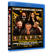 "F1RST Wrestling Blu-ray/DVD March 22, 2018 ""Uptown VFW 2"" - Minneapolis, MN"