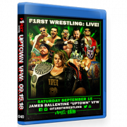 "F1RST Wrestling Blu-ray/DVD September 15, 2018 ""Uptown VFW 3"" - Minneapolis, MN"