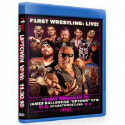 "F1RST Wrestling Blu-ray/DVD November 30, 2018 ""Uptown VFW 4"" - Minneapolis, MN"