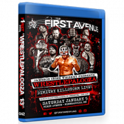 "F1RST Wrestling Blu-ray/DVD January 5, 2019 ""Wrestlepalooza 13"" - Minneapolis, MN"