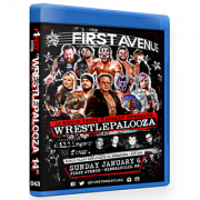 "F1RST Wrestling Blu-ray/DVD January 6, 2019 ""Wrestlepalooza 14"" - Minneapolis, MN"