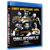 "F1RST Wrestling Blu-ray/DVD November 29 & 30, 2019 ""November Doubleshot"" - Fargo, ND & Minneapolis, MN"