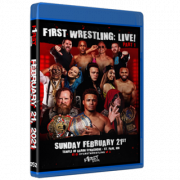 "F1RST Wrestling Blu-ray/DVD February 21, 2021 ""F1RST Wrestling: Live! - Part 1 & 2"" - St. Paul, MN"