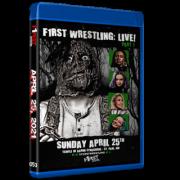 """F1RST Wrestling Blu-ray/DVD April 25, 2021 """"F1RST Wrestling: April Live! - Part 1 & 2"""" - St. Paul, MN"""