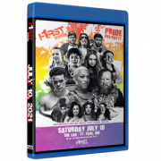"""F1RST Wrestling Blu-ray/DVD July 10, 2021 """"Pride Pre-Party"""" - St. Paul, MN"""