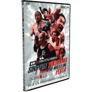 "FREEDOMS DVD January 6, 2013 ""Sinsyun Yohohama Pro-Wrestling Festa"" - Yokohama, Japan"