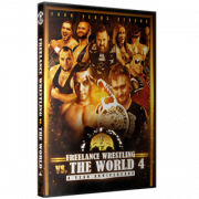 "Freelance Wrestling DVD June 15, 2018 ""Freelance vs. The World 4"" - Chicago, IL"