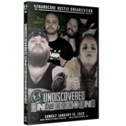"H2O Wrestling DVD January 19, 2020 ""Undiscovered Underground"" - Williamstown, NJ"