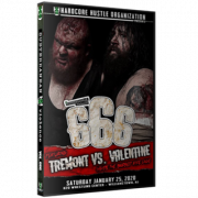 "H2O Wrestling DVD January 25, 2020 ""Subterranean Violence: Vol: 666"" - Williamstown, NJ"