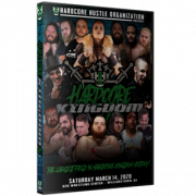 "H2O Wrestling DVD March 14, 2020 ""Hardcore Kingdom 4"" - Williamstown, NJ"