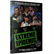 "H2O Wrestling DVD March 21, 2020 ""Extreme Epidemic"" - Williamstown, NJ"