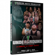 "H2O Wrestling DVD June 5, 2020 ""Underground & Danny Havoc Tribute Special"" - Williamstown, NJ"