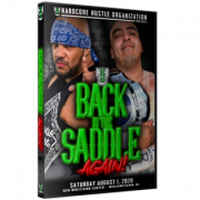"H2O Wrestling DVD August 1, 2020 ""Back In The Saddle Again"" - Williamstown, NJ"