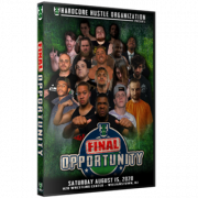 "H2O Wrestling DVD August 15, 2020 ""Final Opportunity"" - Williamstown, NJ"