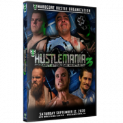 "H2O Wrestling DVD September 12, 2020 ""Hustlemania 3"" - Williamstown, NJ"