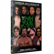 "H2O Wrestling DVD October 3, 2020 ""Pay Your Dues"" - Williamstown, NJ"
