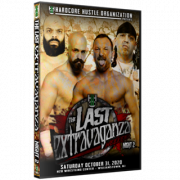 "H2O Wrestling DVD October 31, 2020 ""The Last Extravaganza: Night 2"" - Williamstown, NJ"