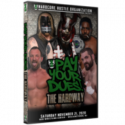 "H2O Wrestling DVD November 21, 2020 ""Pay Your Dues #2: The Hardway"" - Williamstown, NJ"