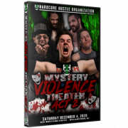 "H2O Wrestling DVD December 4, 2020 ""Mystery, Violence, Theater 2"" - Williamstown, NJ"