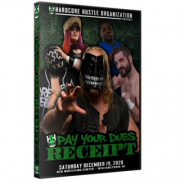 "H2O Wrestling DVD December 19, 2020 ""Pay Your Dues 3: Receipt"" - Williamstown, NJ"