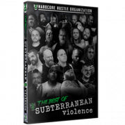 "H2O Wrestling DVD ""The Best of Subterranean Violence: Volumes 1-666"""