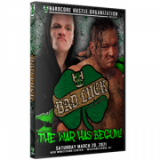 """H2O Wrestling DVD March 20, 2021 """"Bad Luck"""" - Williamstown, NJ"""