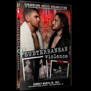 "H2O Wrestling DVD ""Subterranean Violence: Volume 9: The Showcase"" - Williamstown, NJ"