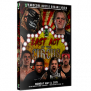 """H2O Wrestling DVD May 3, 2021 """"The Last Act @ The Circus"""" - Williamstown, NJ"""