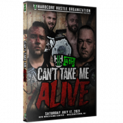 """H2O Wrestling DVD July 17, 2021 """"Can't Take Me Alive"""" - Williamstown, NJ"""