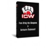 "ICW DVD March 26, 2010 ""FBTW"" & April 8, 2010 ""Barbed Wire Madness"" - Milwaukee, WI"