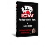 "ICW DVD March 8, 2010 ""Fan Appreciation Night"" & March 11, 2010 ""Ladies Night"" - Milwaukee, WI"