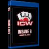 """ICW Blu-ray/DVD August 29, 2021 """"Insane 8"""" - Milwaukee, WI"""