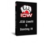 "Insane Championship Wrestling DVD January 29, 2010 ""JCW Live"" & February 26, 2010 ""Destiny IV"" - Milwaukee, WI"