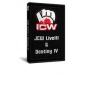 "Insane Championship Wrestling DVD January 29, 2010 ""JCW Live"" & February 26, 2010 ""Destiny IV"" - Milwaukee, WI"