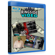 "IWA Deep South / LXW Blu-ray/DVD ""Shoots w/ John Rare & Spidar Boodrow, Ronnie Jenkins & Borriss Dukkee"""