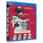 "IWA Deep South Blu-ray/DVD April 29, 2017 ""Carnage Cup 11"" - Iron City, TN"